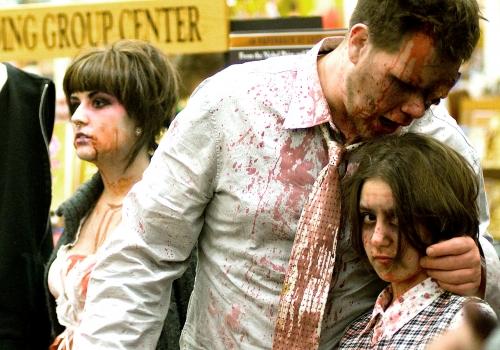 Zombie contest